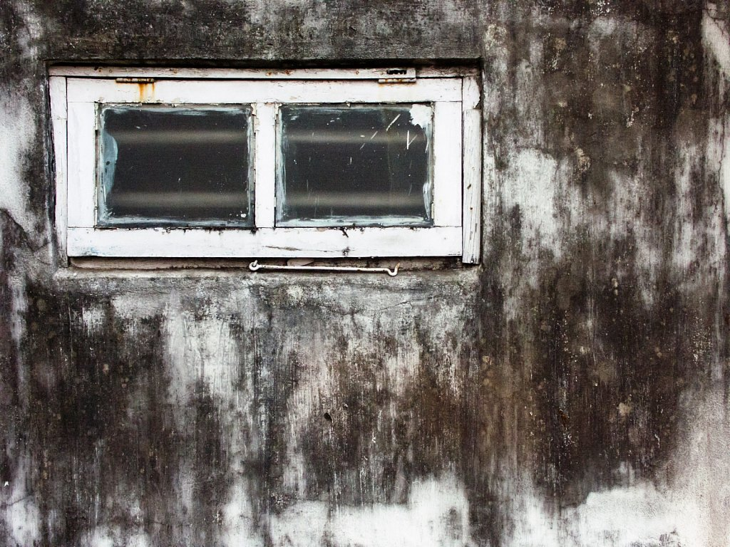 A window on the roof of my grandparents house in Kolkata West Be