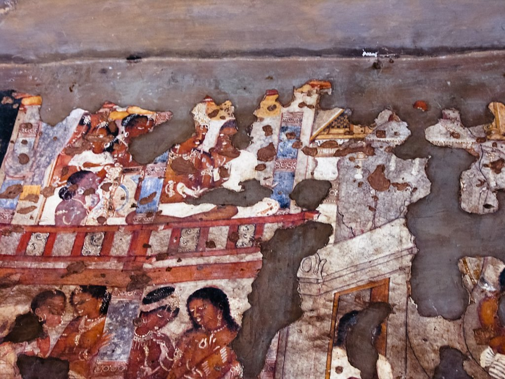 Cave paintings at Ajanta caves