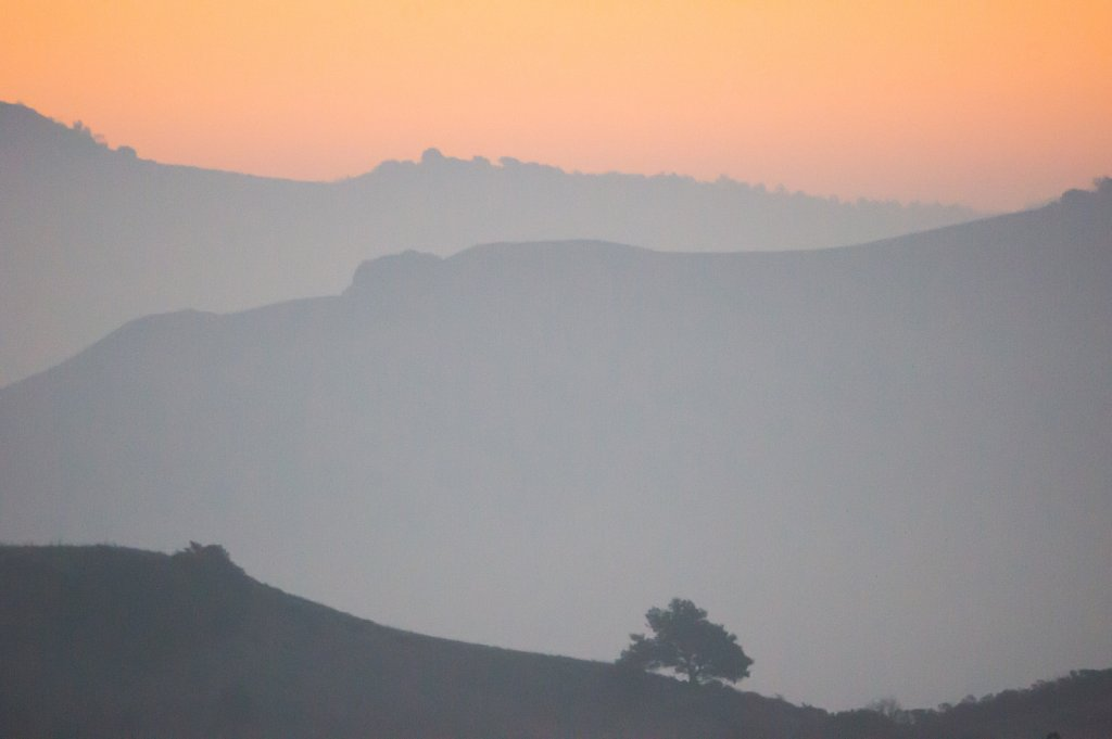 Mt Diablo foothills at sunrise