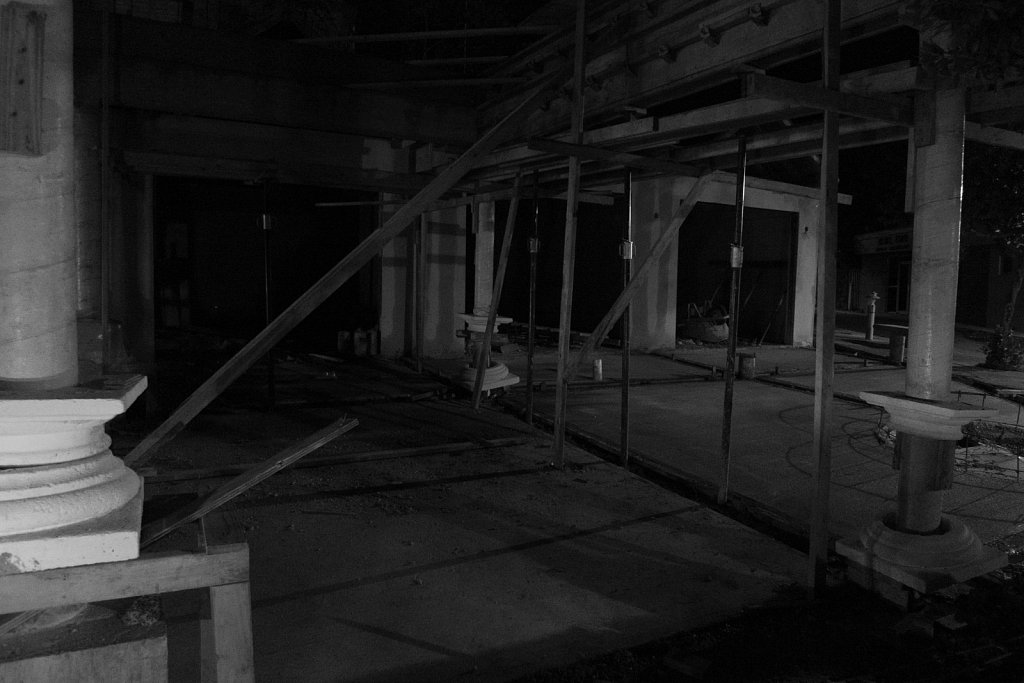 New Constrution at night on Culebra